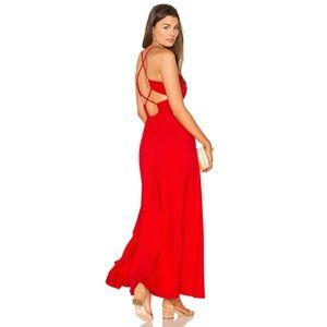 Susana Monaco Phaedra Maxi Dress Size Medium